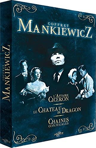 Coffret Joseph L. Mankiewicz 3 DVD - L'Affaire Ciceron / Le Château du dragon / Chaînes conjugales