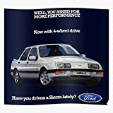 Escort Sierra Xr3 Xr4 Xr4I Cosworth Xr4X4 Ford Regalo...