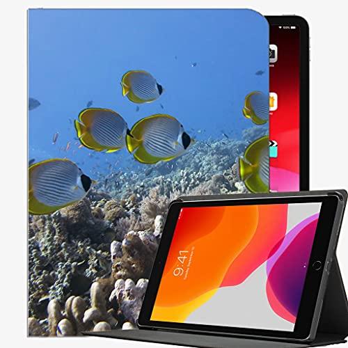 para iPad Air 1st Generation Case, Fish Butterflyfish Submarino Panda Case Slim Shell Funda para iPad Air 9.7 Pulgadas