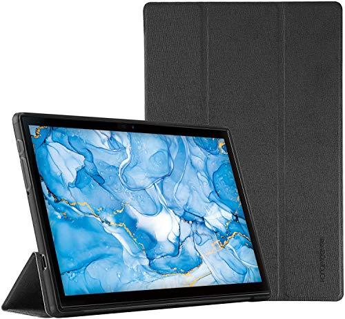 Dragon Touch タブレット Note Pad 102 専用 保護ケース 高級PUレザース カバータンド機能 指紋防止 超軽量 10.1型インチ