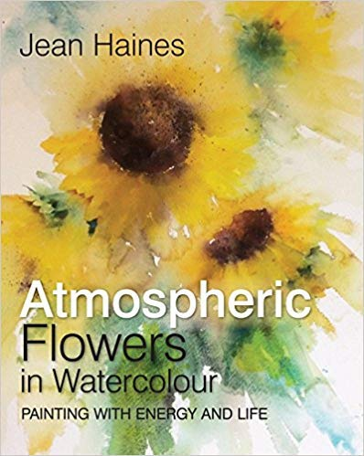 [By Jean Haines] Atmospheric Flowers in Watercolour-[Hardcover] Best selling book for |Watercolor Painting|