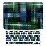 Funda protectora para MacBook New Pro 13 Touch A1706, A1989, A2159, carcasa rígida de plástico y teclado compatible con MacBook New Pro 13 Touch, Clan Lyon Scottish Heritage Tartan