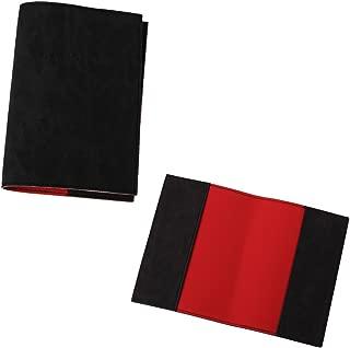 black personalised passport cover