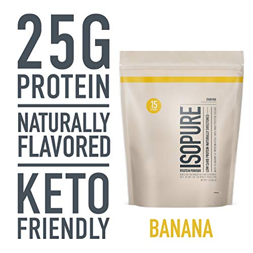 Isopure Low Carb Naturally Sweetened &...