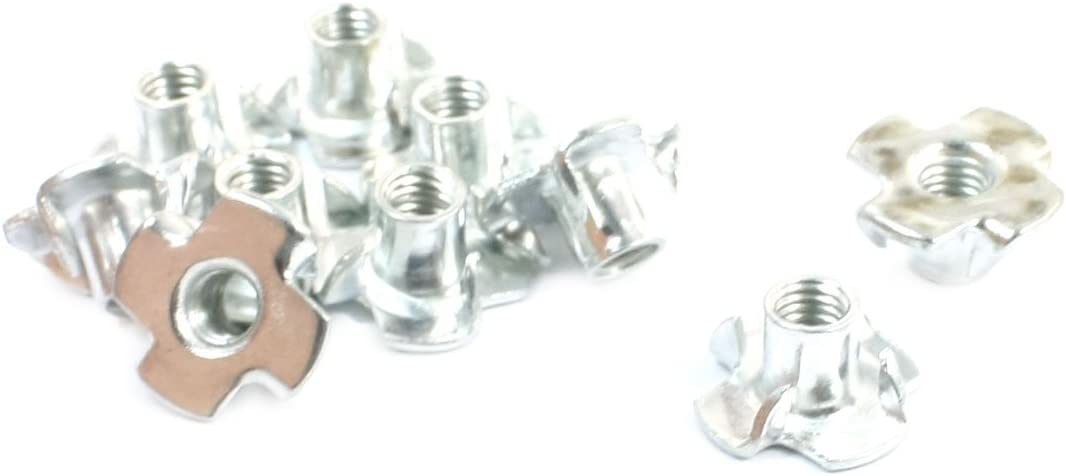 uxcell Diameter Four New mail order Claw Nut 0.2 Furniture Connecting 5% OFF Fittings