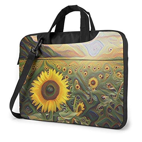 XCNGG Bolso de hombro Computer Bag Laptop Bag, Colorful Mushroom Business Briefcase Protective Bag Cover for Ultrabook, MacBook, Asus, Samsung, Sony, Notebook 15.6 inch