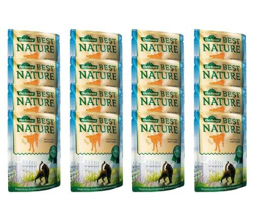 Dehner Best Nature Katzenfutter Adult, Kalb, 16 x 85 g (1.36 kg)