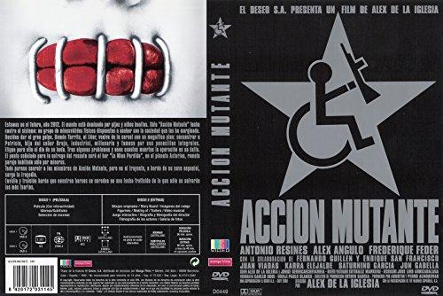 Acción Mutante ed especial 2DVD