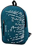 AURION 555-green-bag Lightweight Backpack Foldable Hiking Daypack Water Resistant Travel Day/School Bag for Men Women Kids Outdoor Camping Mountaineering Walking Cycling Climbing, 33 LTR, (Green)