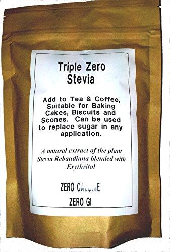 Triple Zero 000 Stevia with Erythritol Zero Calorie Natural Sweetener 500g x 3 packs