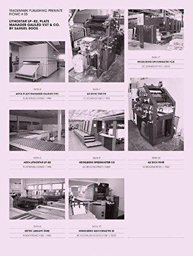 PICNIC # 05: Lithostar LP-82 ; Plate Manager Galileo VXT & Co.