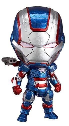 アイアンマン3 ねんどろいど アイアン・パトリオット ヒーローズ・エディション (ノンスケール ABS&PVC塗装済み可動フィギュア)
