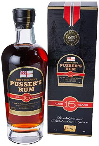 Pusser's Rum British Navy 15 Jahre (1 x 0.7 l)