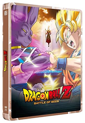 Dragon Ball z : Battle of Gods-Steelbook-Le Film + oav [Combo Blu-Ray + DVD]