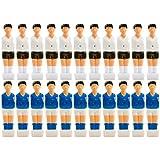 Maxstore 22x Table Football Figurines pour 13mm Jeu de Barres, Barres pour Barres Plein/Creux, avec vis, Table...