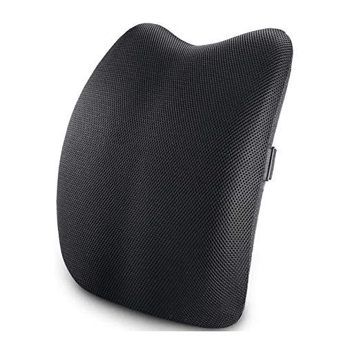 Adesign Amortiguador trasero textuales, almohada lumbar, espalda baja corrector de la postura...