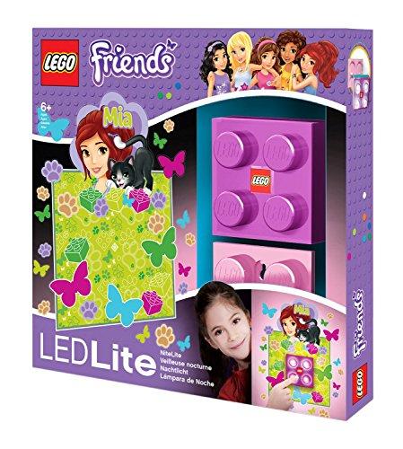 LEGO Friends lumière Murale–Mia, Env. 8x 8cm iq40294
