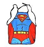 Superman Logo Koch- und Grillschürze im Comicdesign