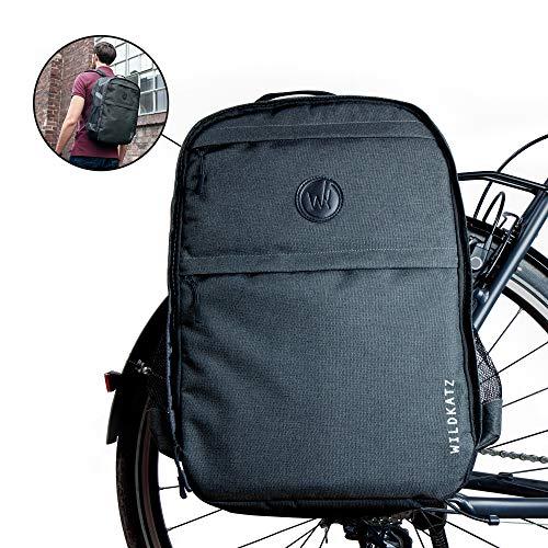 Wildkatz Felis - Fahrradtasche und Rucksack 30 Liter - inklusive wasserdichtem Regencape - NEU 2020