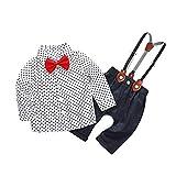 POLP Camisa de Pajarita con Cuello en Forma de Estrella de bebé niño + Traje...