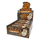 Grenade Carb Killa Protein Chocolate Bar | 23g High Protein Snack | Keto Friendly Low Net Carb Low Sugar | Nut Free Energy Bars | Caramel Chaos, 12 Pack