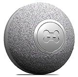 DIIBRA Mini Ball 2.0 by cheerble – Juguete eléctrico pequeño como una pelota de tenis de mesa con revestimiento de lana, interactivo y 100% automático, pequeño y ligero para gatos