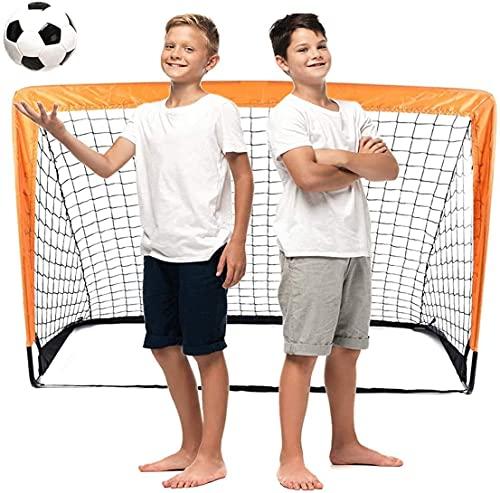 Portería para Fútbol portátil, Juego de Mini portería de Fútbol para Niños, Portería de Fútbol Portátil y Ligero