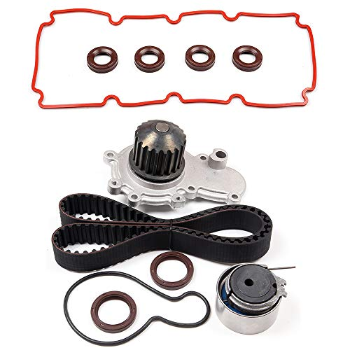 ANGLEWIDE TCKWP245B Timing Belt Water Pump Kits Replacement for 2000 Cirrus 2000-2005 Dodge Neon 1999-2000 Dodge Stratus 1999-2000 Plymouth Breeze