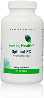 Seeking Health | Optimal PC Supplement | 100 Softgels of 800 mcg Blended Phospholipid Complex | Made from Non-GMO Sunflowe...