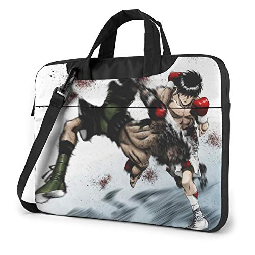 Hajime No Ippo Laptop Shoulder Messenger Bag Case Sleeve for 14 Inch 15 Inch Laptop Case Laptop Briefcase 14 Inch