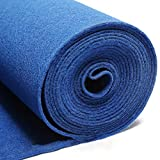 Carpets CnCnCn Alfombra desechable Cepillado alfombras Exposición Decoración de ingeniería Oficina Escalera Pasillo (Color : A, Size : 1x50m/thick 5mm)