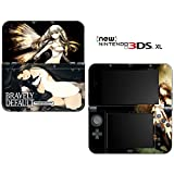 Bravely Default Decorative Video Game Decal Cover Skin Protector for the 'New' Nintendo 3DS XL (2015-2016 Edition)