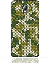 Lenovo Vibe P1 TPU Silicone Case With Knitted Camouflage Pattern Design