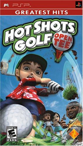 Hot Shots Golf Open Tee - Sony PSP (Best Golf Grips 2019 Hot List)