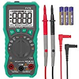 ZISS Auto-Ranging Digital Multimeter Diode Voltage Tester with Backlit LCD (Green)