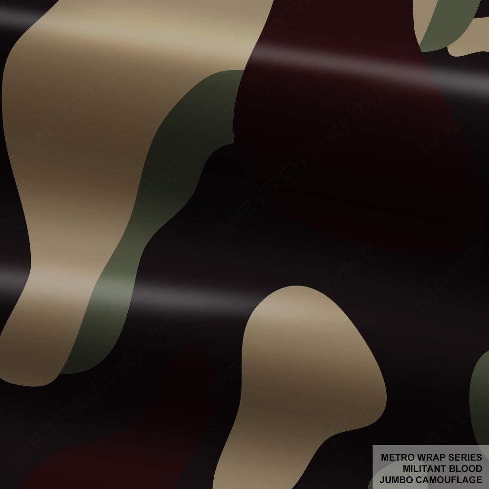 Metro Wrap Series Militant Blood Jumbo s Store 5 x Camouflage 5ft 1ft Memphis Mall