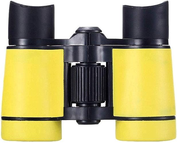 GXY Lunettes De L'école Primaire Haute Définition Mode Double Barre Durables Télescope (Couleur   Jaune)