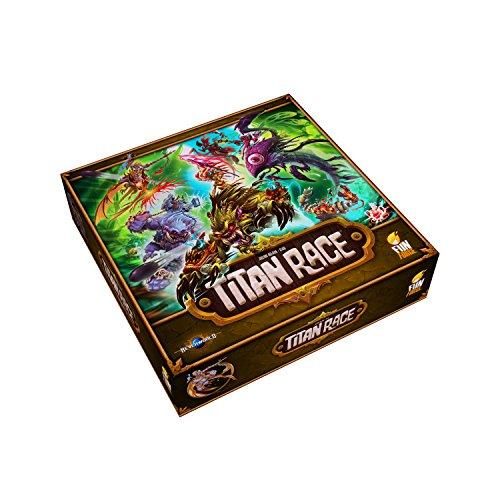 Funforge TTRUS01 - Titan Race, Englisch, Brettspiel