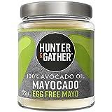 Hunter & Gather Mayocado - Mayonesa Vegana de Aceite de Aguacate Puro 175g | Sin Huevo, Libre de Colorantes Artificiales y Saborizantes | Paleo, Ceto / Keto, Libre de Gluten y Azúcar