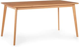Besoa Svenson Mesa de Comedor – Madera de Haya,150 x 75 x 80 cm, se Ajusta Perfectamente al par de sillas de Comedor Nyssa de Besoa, Madera