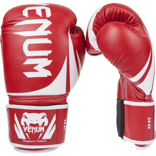 Venum Challenger 2.0 Boxing Gloves - Red - 16-Ounce
