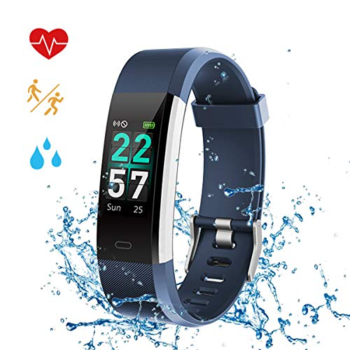 Fitness Tracker Watches for Women Waterproof IP68 Heart Rate Sleep Monitor Pedometer Steps GPS Running Tracking Calorie Counter Messager Sport Smart Band Men Kids