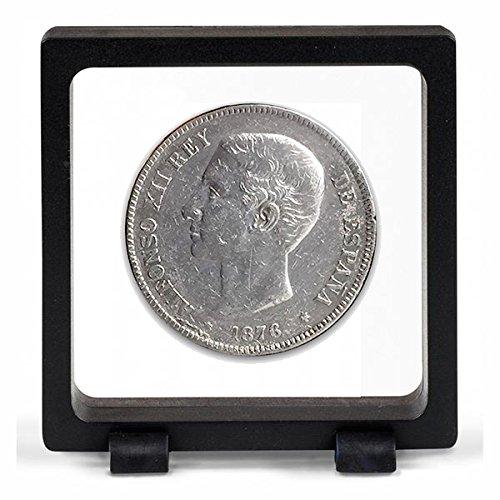IMPACTO COLECCIONABLES Monedas Antiguas - España 5 Pesetas de Plata de Alfonso XII