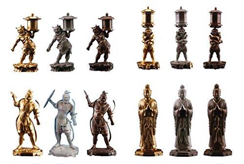 海洋堂 カプセルQ 日本の至宝 仏像立体図録IV 奥深き造仏の世界編 全12種