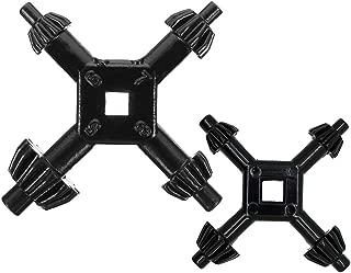 """4 Way Drill Press Chuck Key   1//2/"""",3//4/"""",3//8/"""",1/"""" Universal Combination LARGE"""