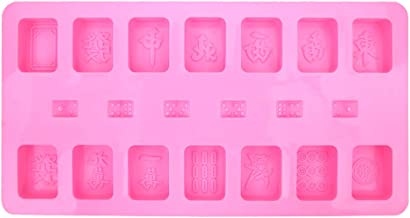 Generic Decorating Tool Jelly Candy Chocolate Soap Mould Cake Tool 29 * 15cm Mahjong Shape Cake Mold Bakeware A