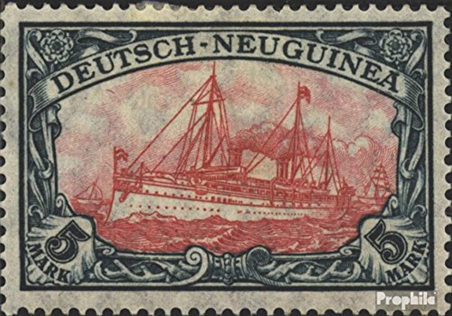 GermanGuinea 23II B I 1914 Ship Imperial Yacht Hohenzollern (Stamps for collectors) seafaring