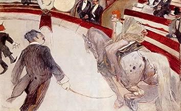 At the Cirque Fernando: The Ringmaster by Henri De Toulouse-Lautrec - 18