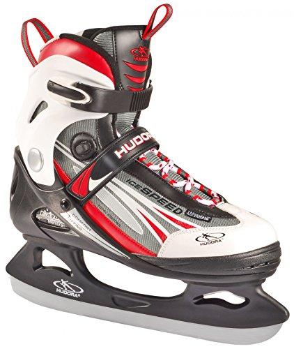 HUDORA Schlittschuhe Eiskunstlauf-rote gr. 41Hockey-Eislaufen