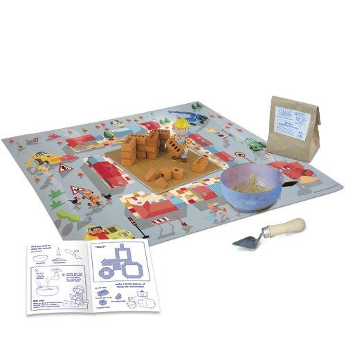 Maps Toys Construido con Boba el Constructor – 30 Real ladrillo construcción Set